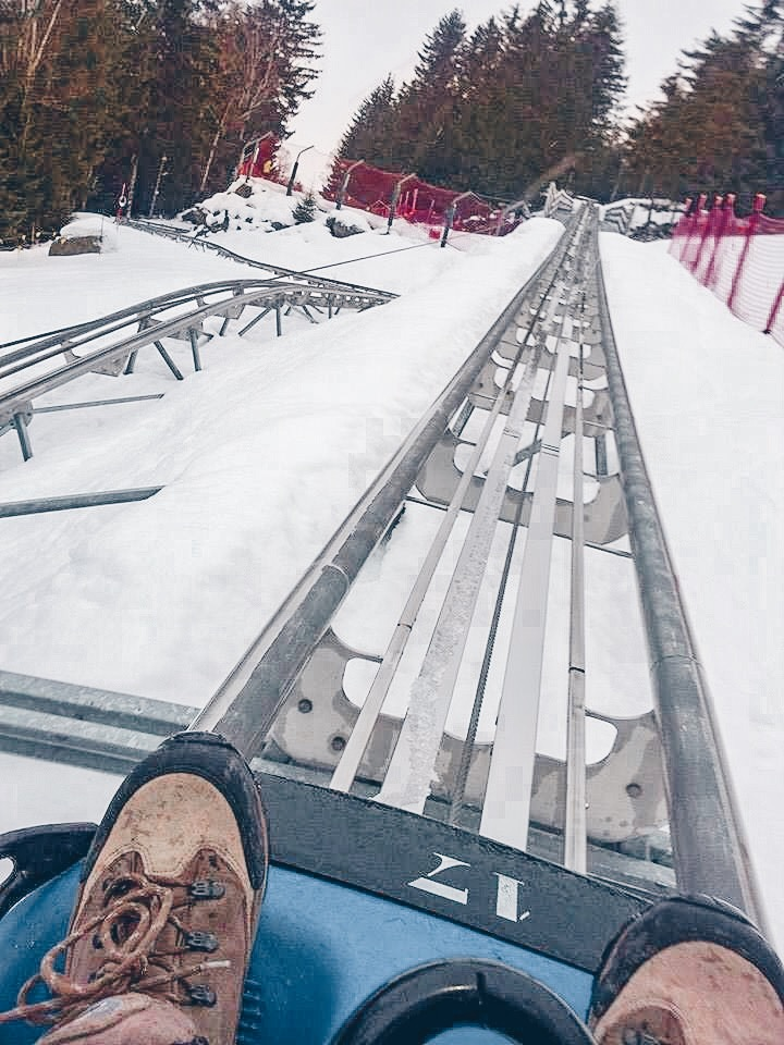 Go down the Luge in Chamonix