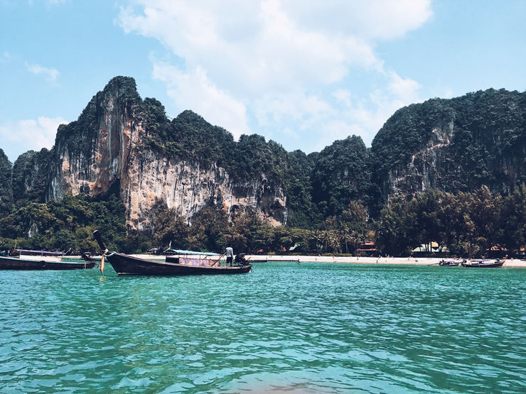 Railay Beach | Krabi | Top things to do in Krabi with Girl Going Global