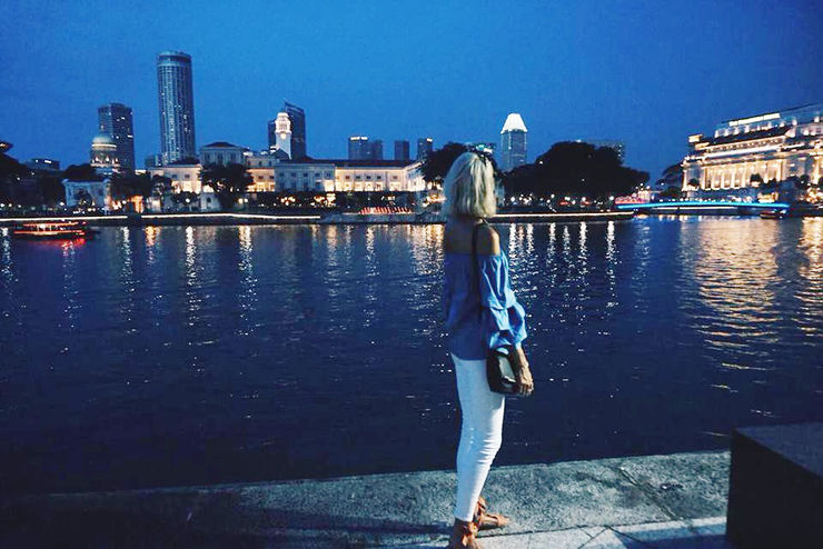 Explore Singapore with Girl Going Global | The Marina