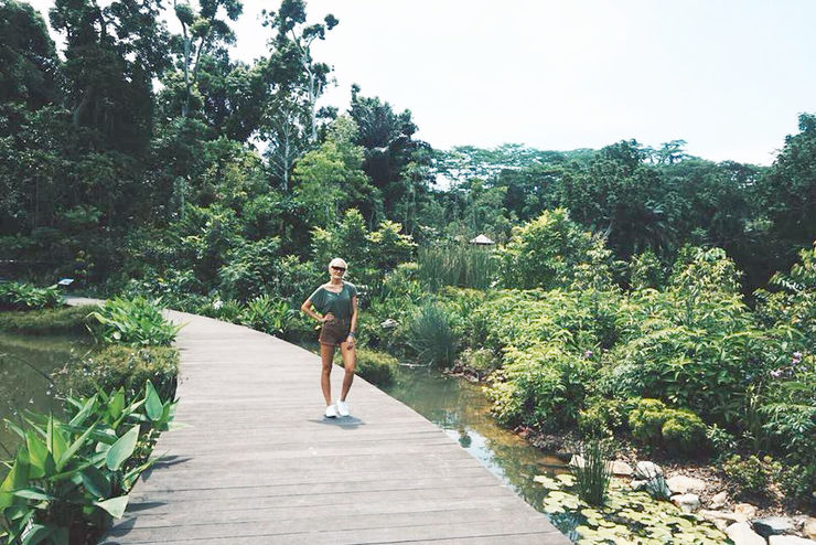 Explore Singapore with Girl Going Global | Botanical Gardens