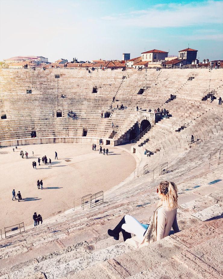 Girl Going Global in Verona Arena