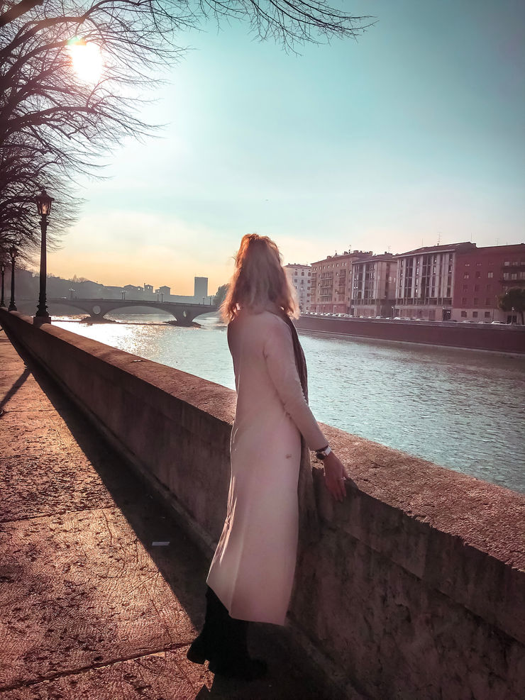 Stroll along the river in Verona | Girl Going Global