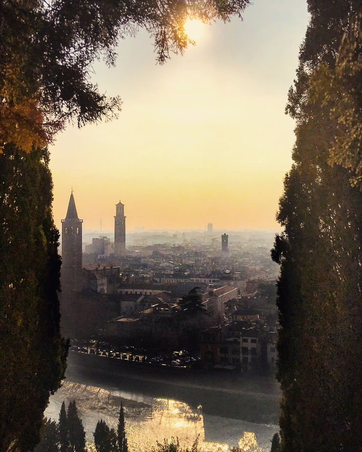 Girl Going Global visits Verona - the view over the city...