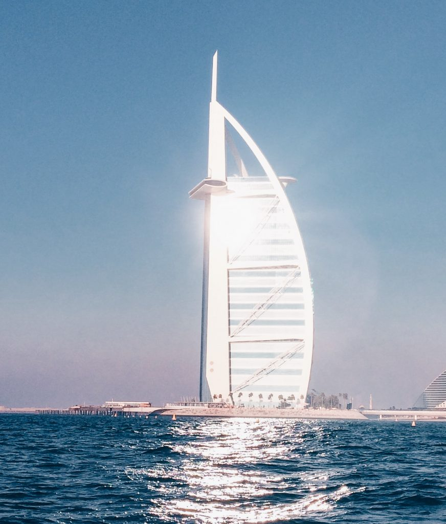 Burj Al Arab | Yellow boat cruise | Dubai | Girl Going Global