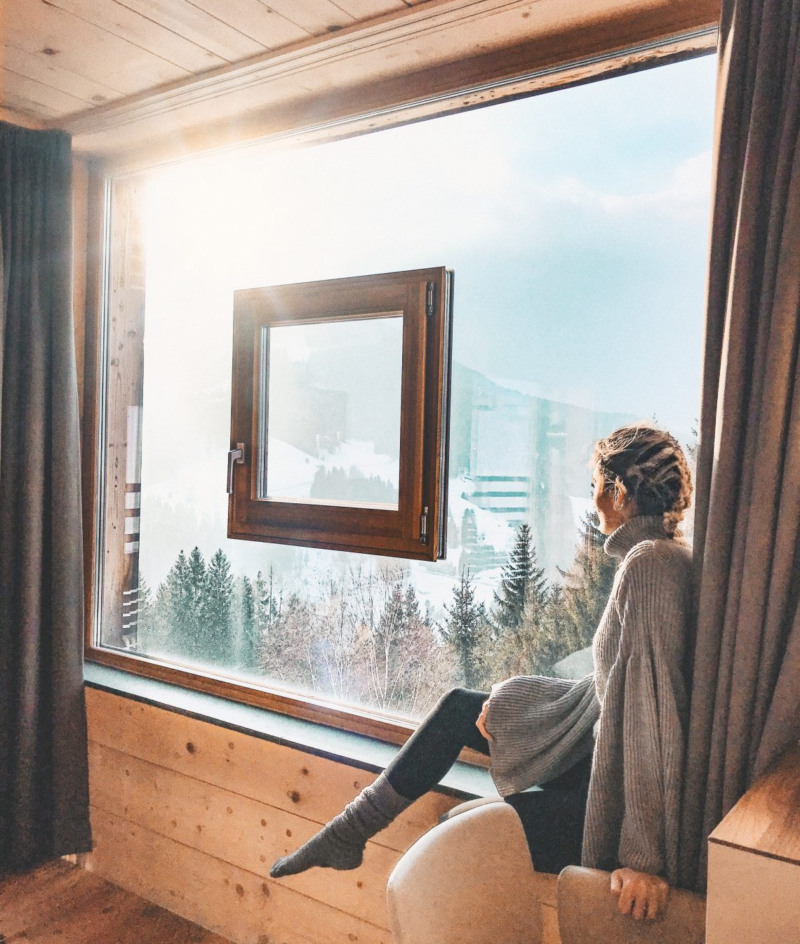 The epitome of Alpine Luxury | My review of Forsthofalm Holzhotel, Leogang