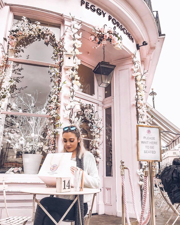 10 FREE things to do in London; Peggy Porschen