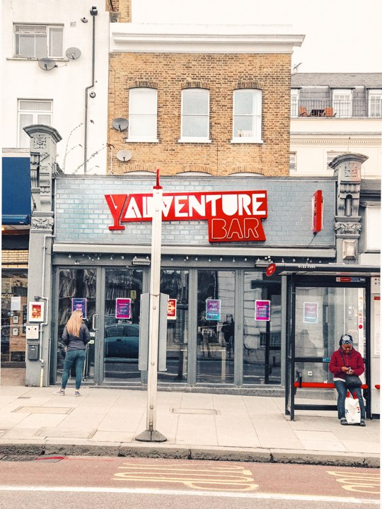 10 FREE things to do in London; Free night out - Adventure Bar, Clapham
