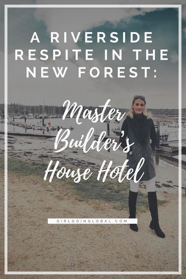A Riverside Rest in The New Forest: Master Builder's House Hotel,