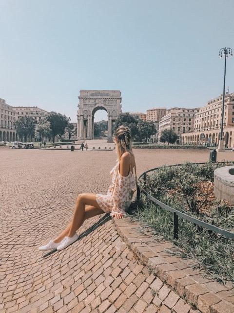 Genoa Arch | Arco della Vittoria | Genoa, Italy