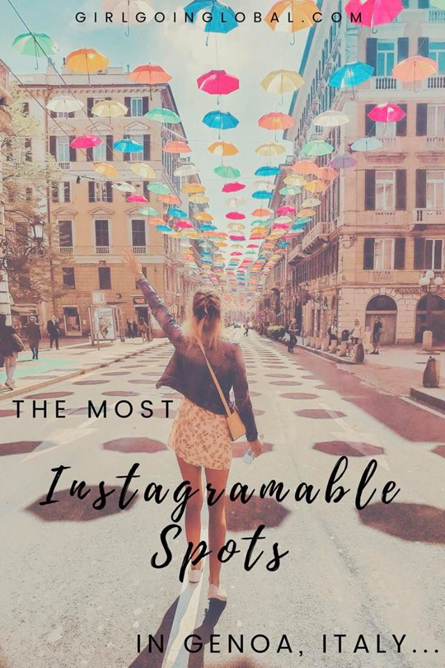 5 Most Instagramable Spots In Genoa, Italy | Girl Going Global