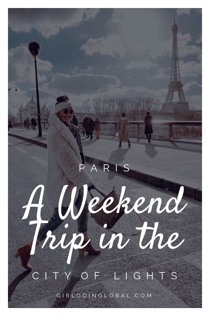 Girl Going Global Goes to Paris