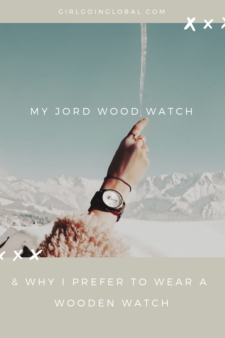 JORD Wood Watch | Girl Going Global